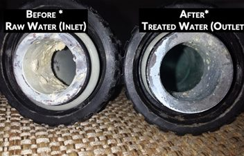 Hard water scale reduction Palm Desert