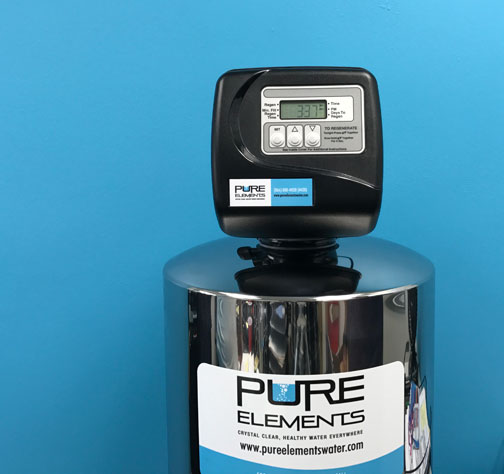pure elements water filtration prevents pinholes from